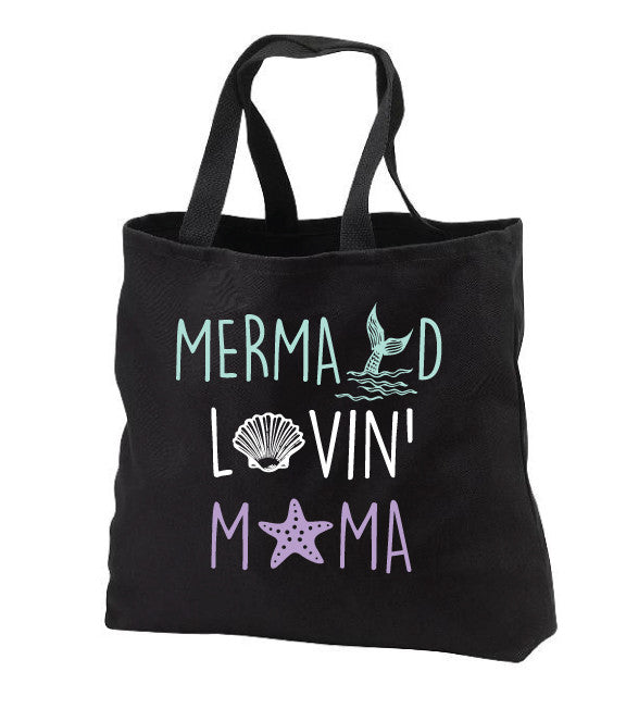 Mermaid Lovin' Mama Tote