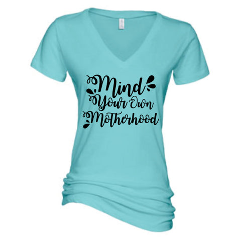 Mind Your Own Motherhood™ Chalk Tee