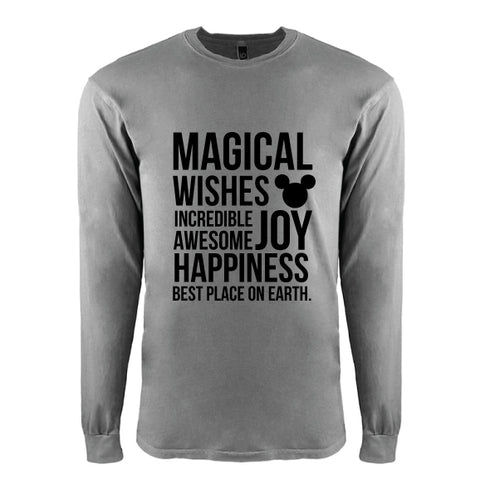 Magical College L/S Tee