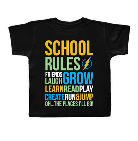 SCHOOL RULES Kid Tee