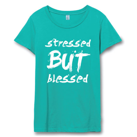 Stressed But Blessed™ Distressed Tee