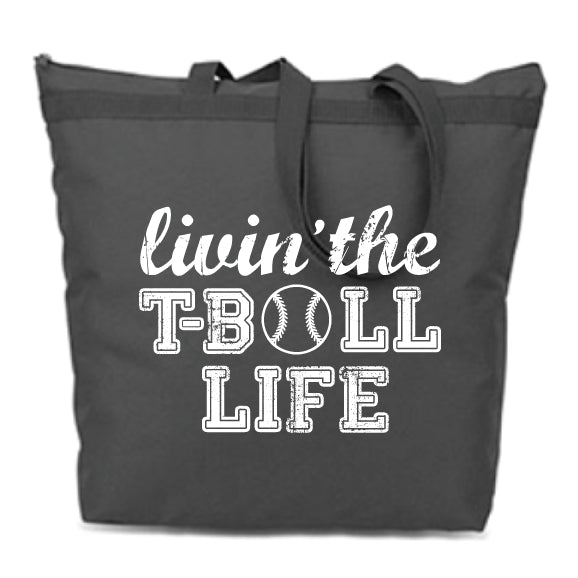 T-Ball Life Zip Tote {Pre-Order}