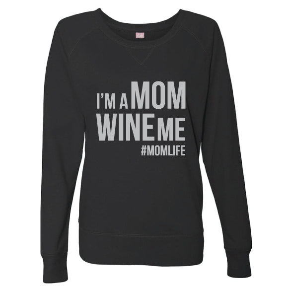 Wine Me Slouchy Pullover