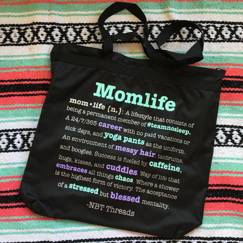 MOMLIFE™ Definition Zip Tote