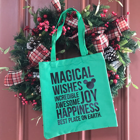 MAGICAL Green Tote {Limited Edition}