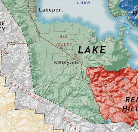 2 New Viticultural Areas Approved in Lake County
