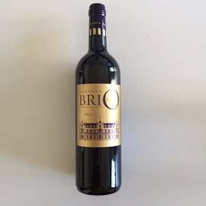 BriO de Chateau Cantenac Brown Margaux 2012