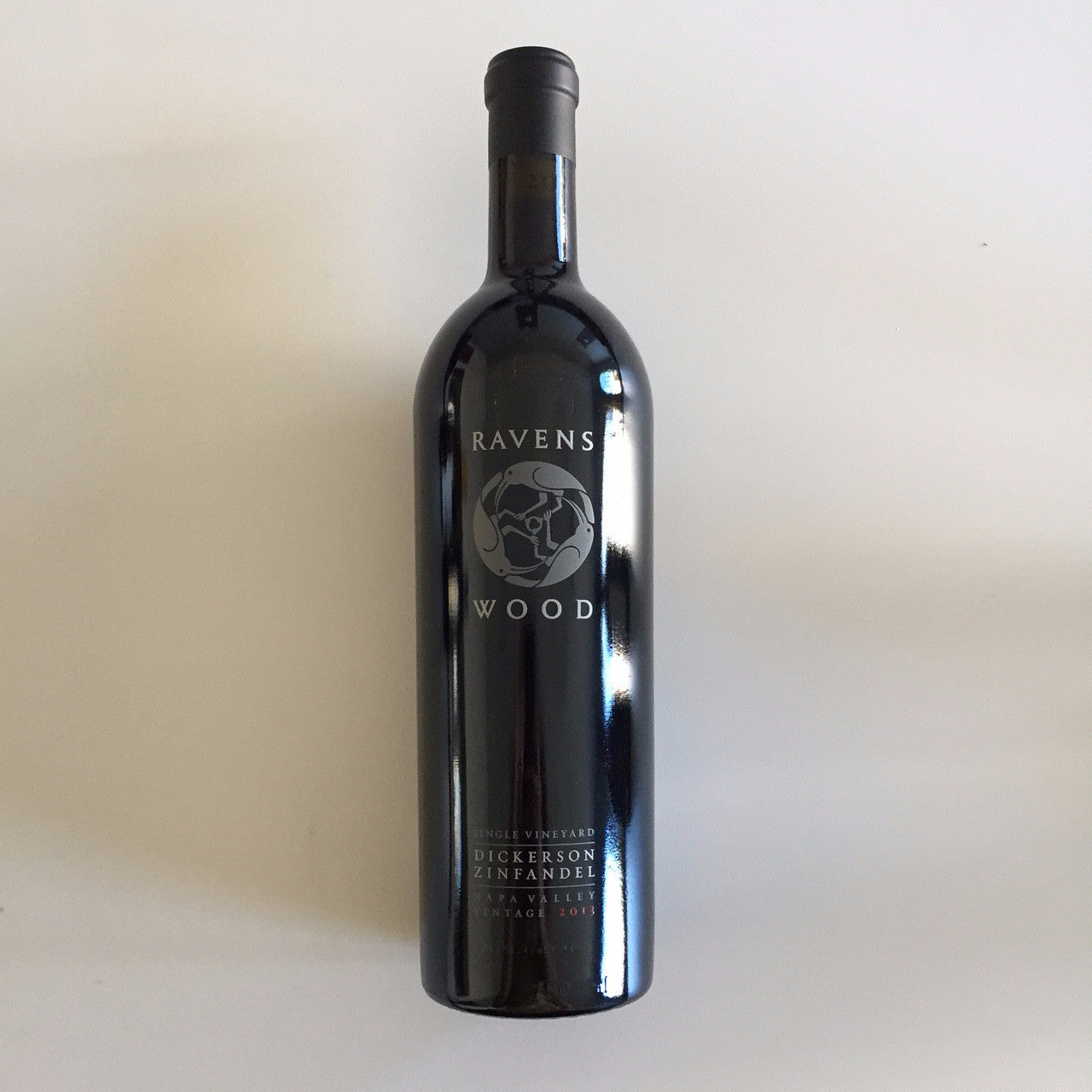 Ravenswood Zinfandel Dickerson Vineyard Napa Valley 2013
