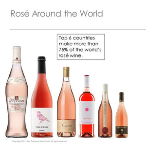 Optional Wine Tasting Kits for SoFi Virtual Edu-Tasting October 23rd: Rosé All Day