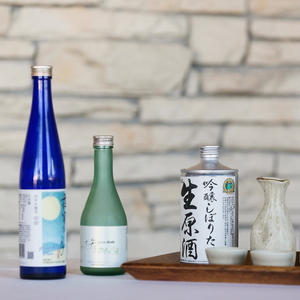 Sake Tasting Kit for Facebook's Virtual Edu-Tasting March 19th
