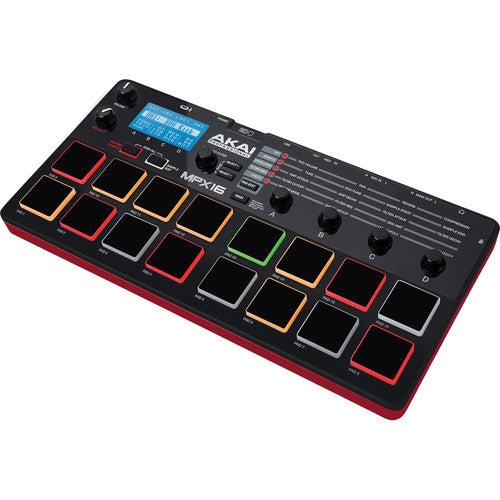 Akai Professional MPX16 SD Sample Recorder and Player