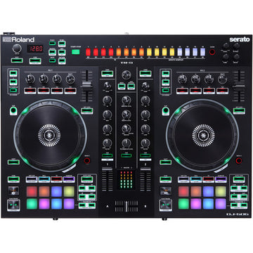 USED Roland DJ-505 2-Channel, 4-Deck DJ Controller for Serato DJ