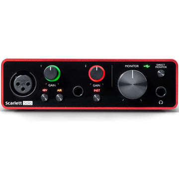 Focusrite Scarlett Solo 2x2 MK3 USB Audio Interface