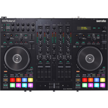 USED Roland DJ-707M 4-Channel DJ Controller for Serato DJ