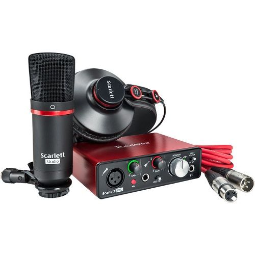 FOCUSRITE SCARLETT Solo Studio Mk2 Audio Interface Bundle