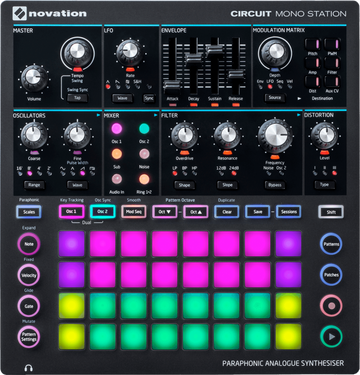 NOVATION CIRCUIT Mono Station Synthesizer