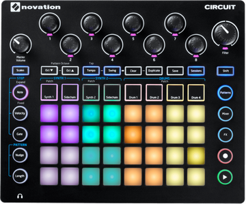 USED NOVATION CIRCUIT Groove Box - Synth & Drum Machine