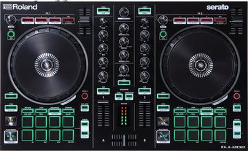 Roland DJ-202 2-Channel, 4-Deck DJ Controller for Serato DJ Pro