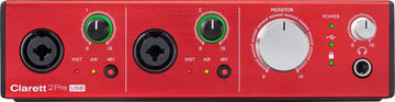 FOCUSRITE CLARETT 2pre-usb 10-in/4-out Usb Audio Interface