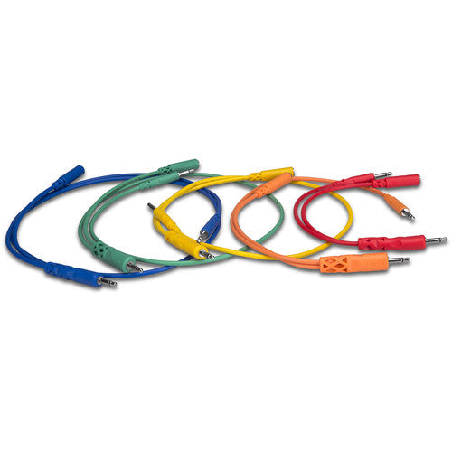Hosa Technology Hopscotch Patch Cables (0.5, 1, 1.5, 2 & 3', Pack of 5)