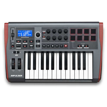 NOVATION Impulse 25 25-key USB Controller Keyboard