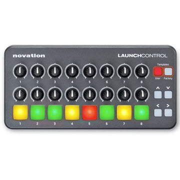NOVATION Launch Control Portable Pad & Knob Controller