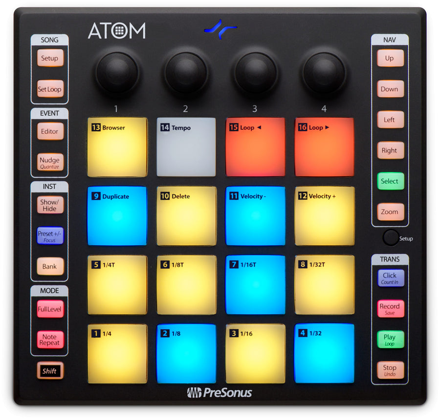 Presonus ATOM Production and Performance Controller
