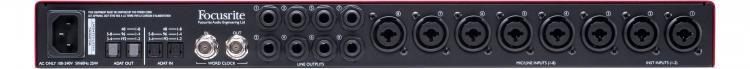 FOCUSRITE SCARLETT Octopre Dynamic 8-channel Preamp With Compression & Adat