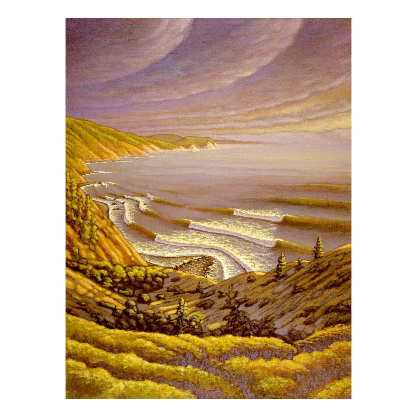 "Matt Beard Art Print ""Overlook"""