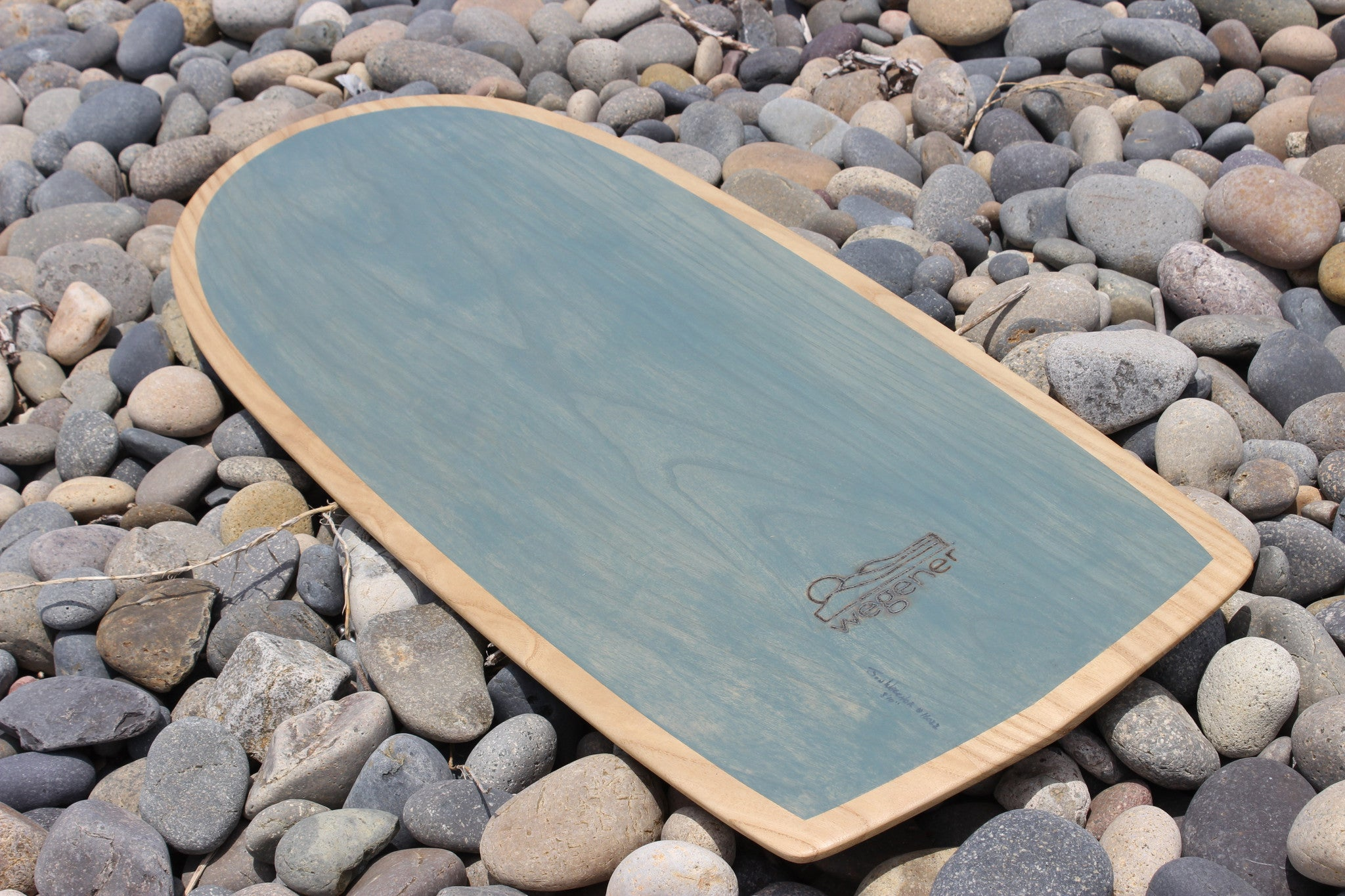 Jon Wegener Paipo Surfboard | With Green Tint