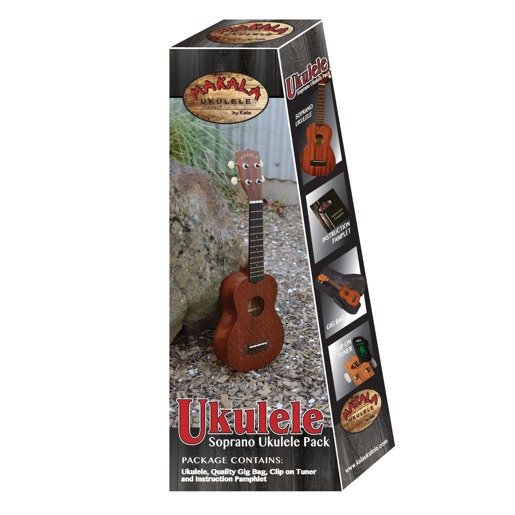 kala brand concert ukulele makala pack groundswell supply. Black Bedroom Furniture Sets. Home Design Ideas