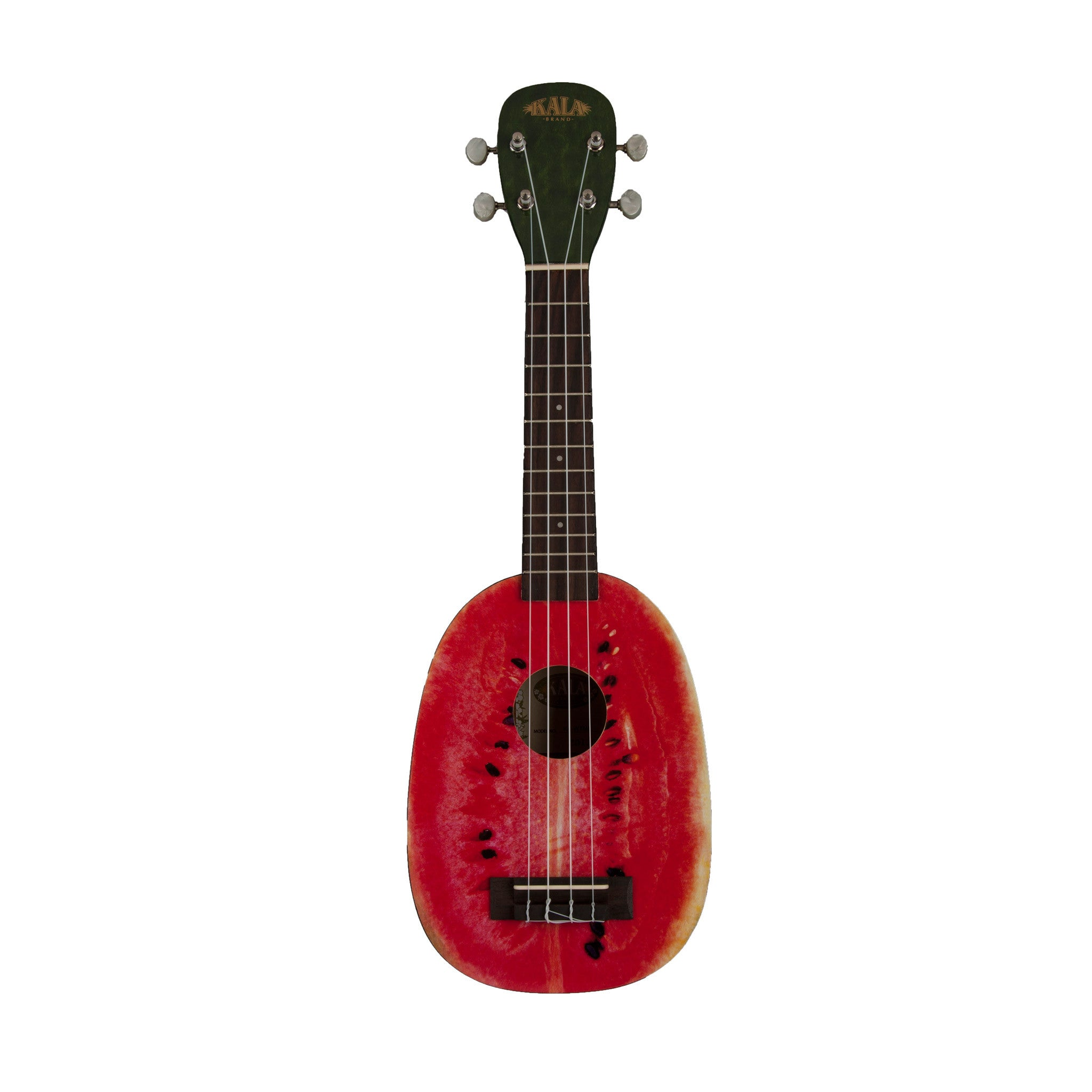 kala brand watermelon soprano ukulele groundswell supply. Black Bedroom Furniture Sets. Home Design Ideas