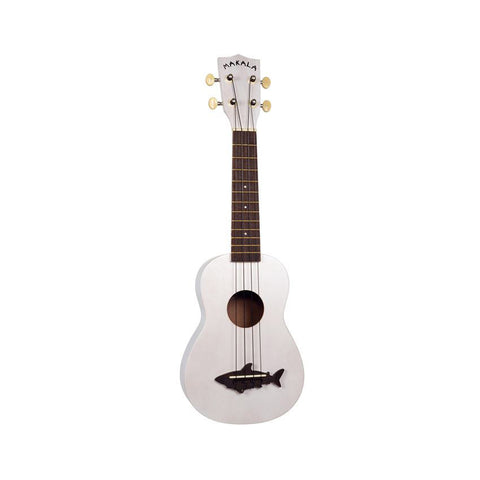 Kala Makala Shark Series Soprano Ukulele - Great White