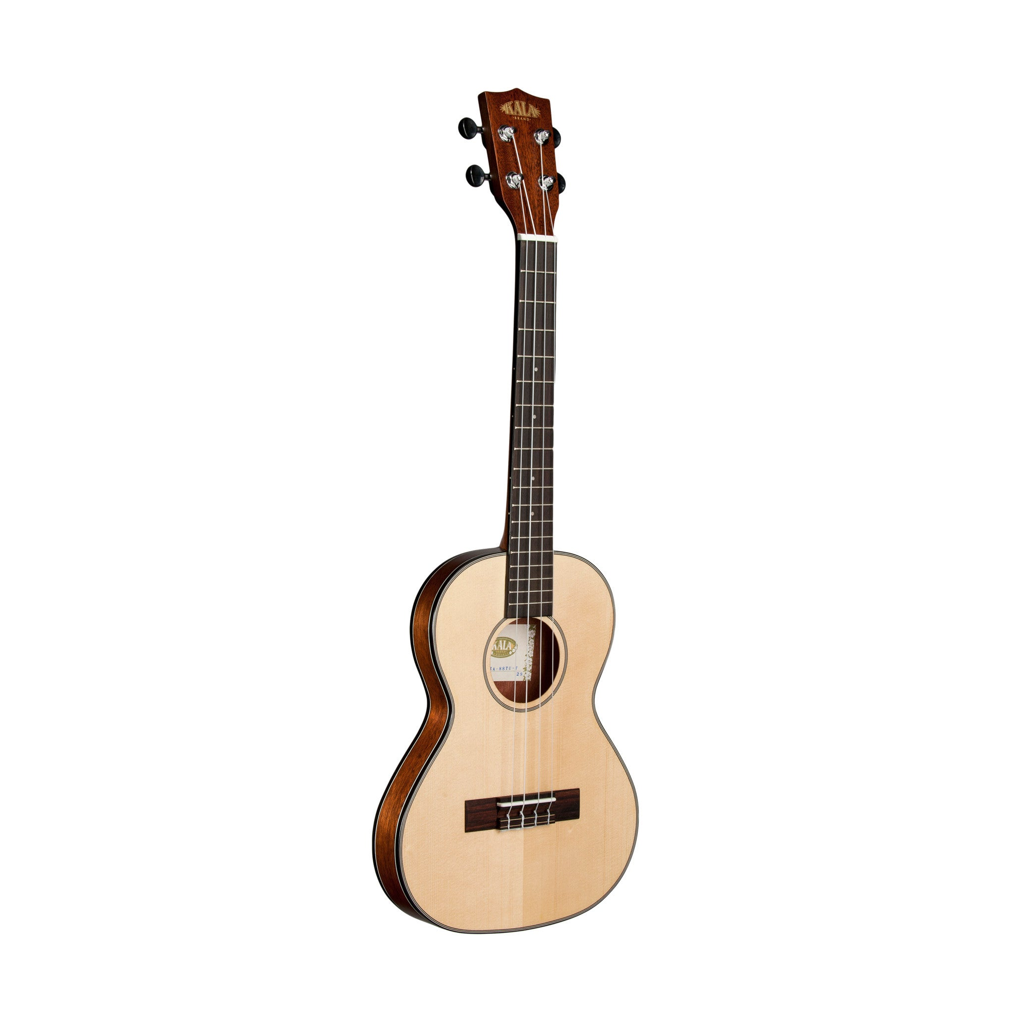 kala thinline travel ukulele with bag tenor mahogany groundswell supply. Black Bedroom Furniture Sets. Home Design Ideas