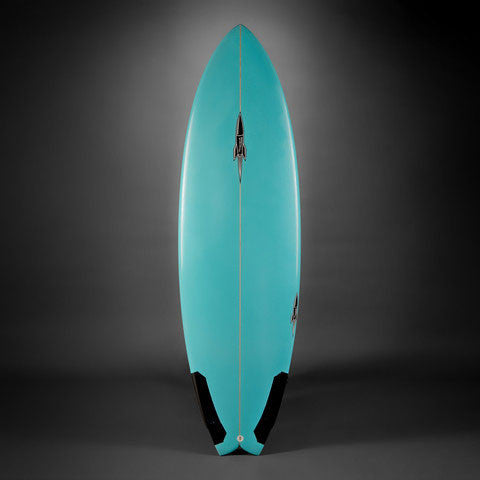 Bill Johnson Rocket Fish Surfboard-Top