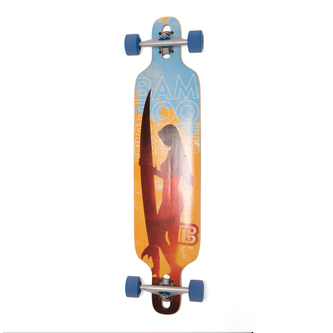 Bamboo Paddle Out Longboard-Bottom