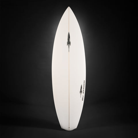 Bill Johnson Ballistic Surfboard-Top