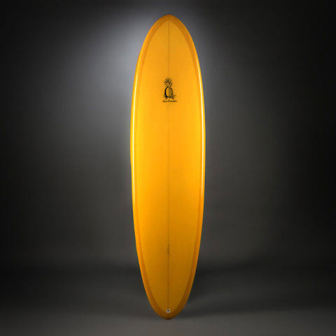 Bill Shrosbree Shrosburger Surfboard-Top