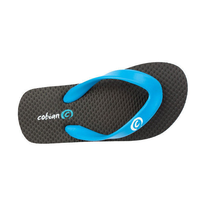 Cobian Flip Kids Sandals (Blue)-Top