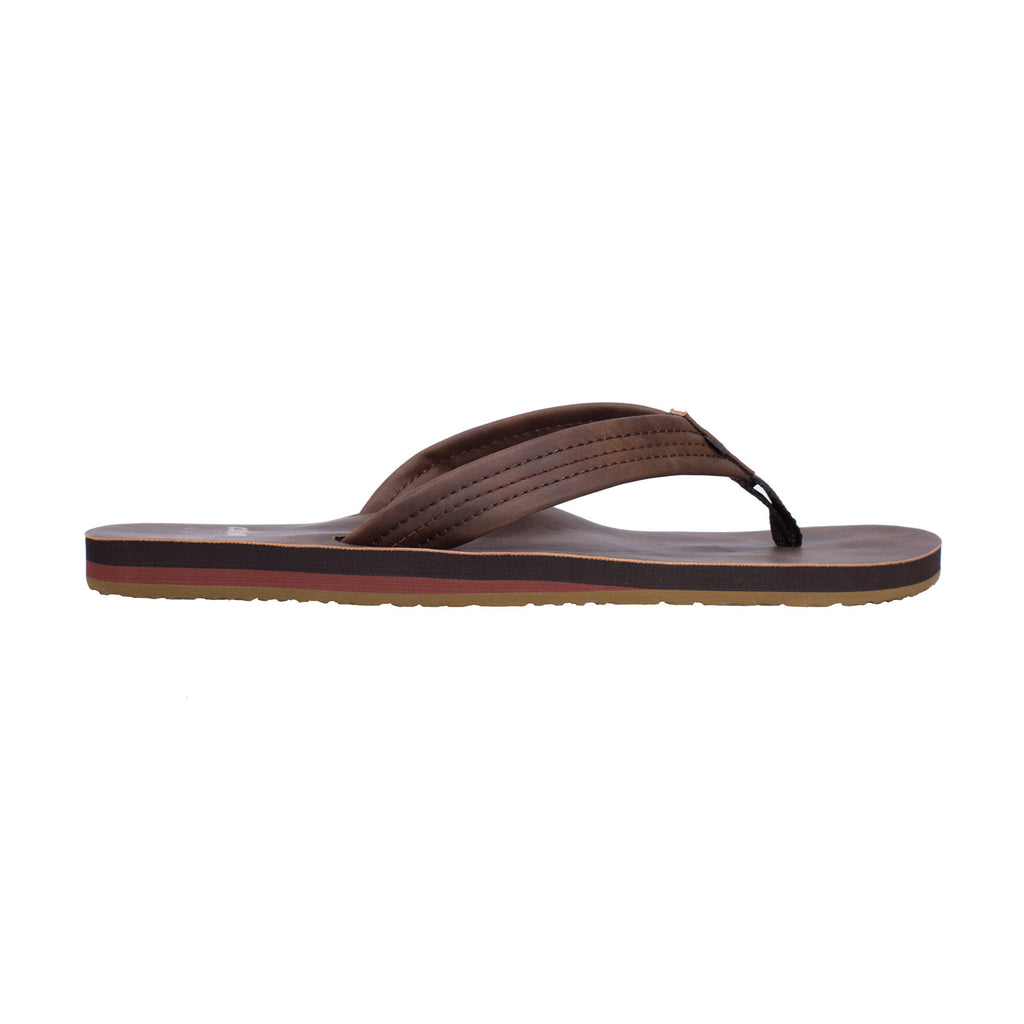 ... Cobian Las Olas Mens Sandals (Brown)-Side ...
