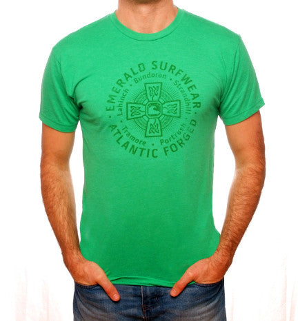 Emerald Surfwear Atlantic Forged T-Shirt (Green)