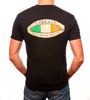 Emerald Surfwear Surfboard Flag T-Shirt (Black)