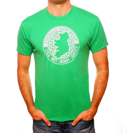Emerald Surfwear Loop T-Shirt (Green)