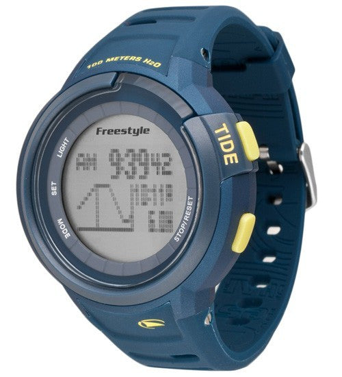 Freestyle Mariner Tide Watch (Navy/Yellow)
