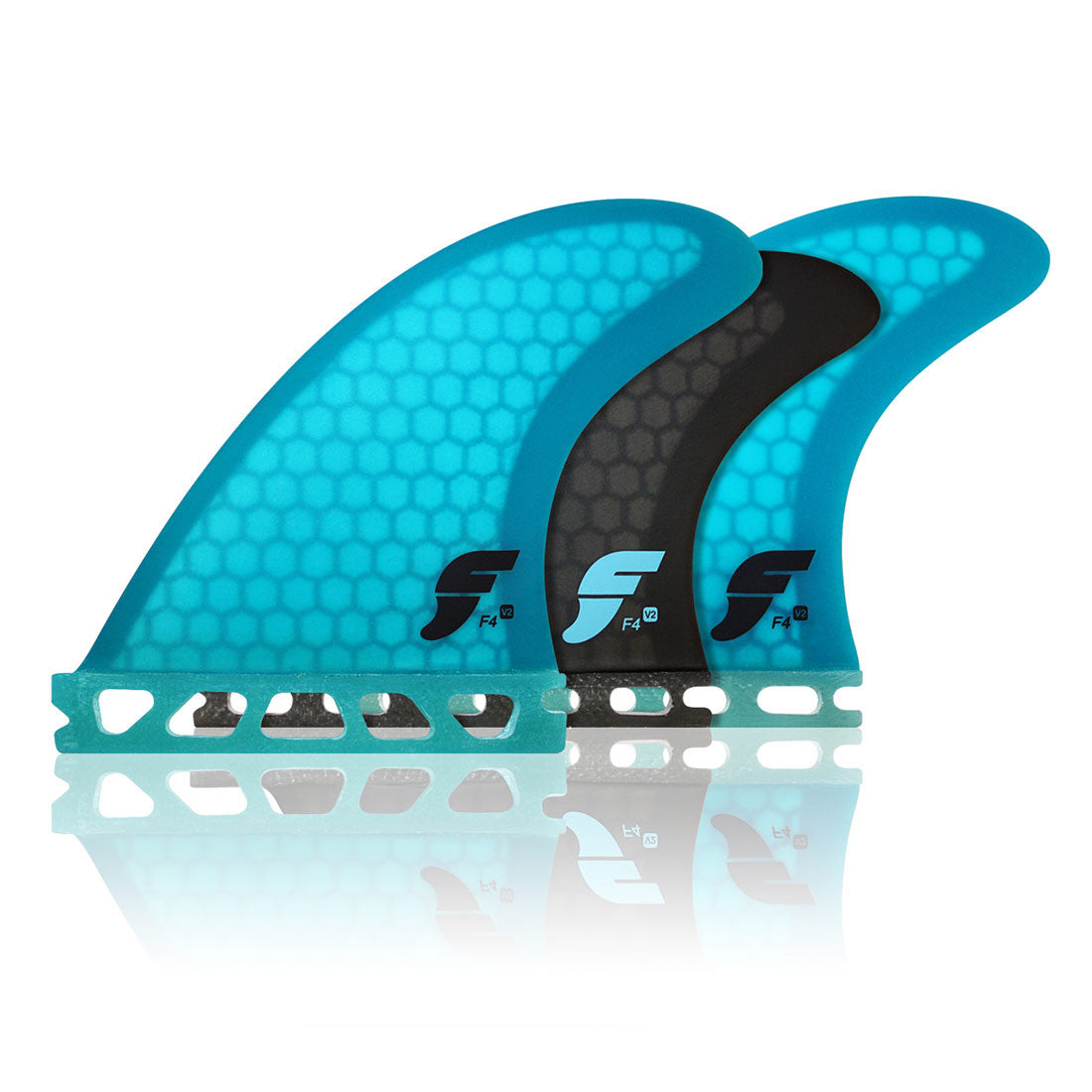 futures fins v2 f4 five fin set small groundswell supply