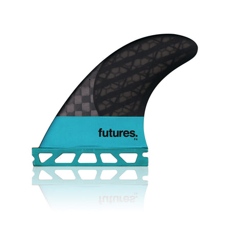 Futures Fins Blackstix F4 3.0 Thruster Set (Small)