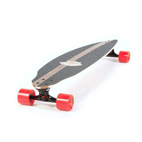 Gordon & Smith FibreFlex Pintail Longboard Skateboard