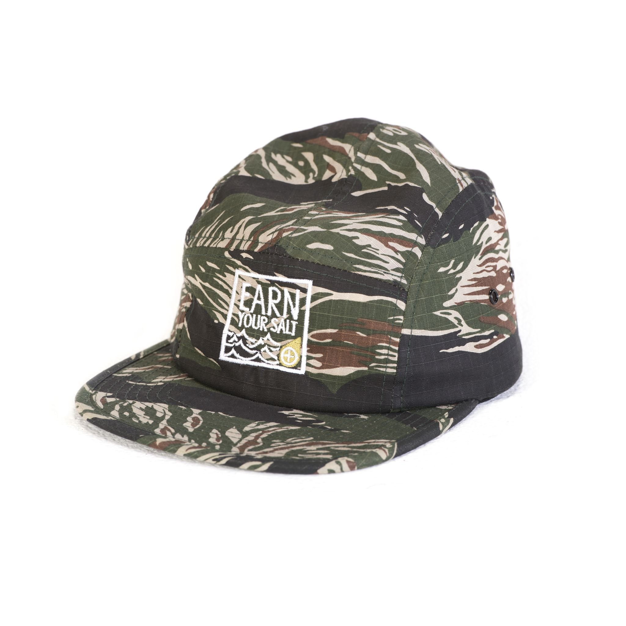 Original Watermen Five Panel Hat (Camo)
