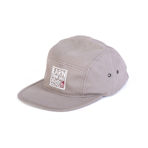 Original Watermen Five Panel Hat (Grey)