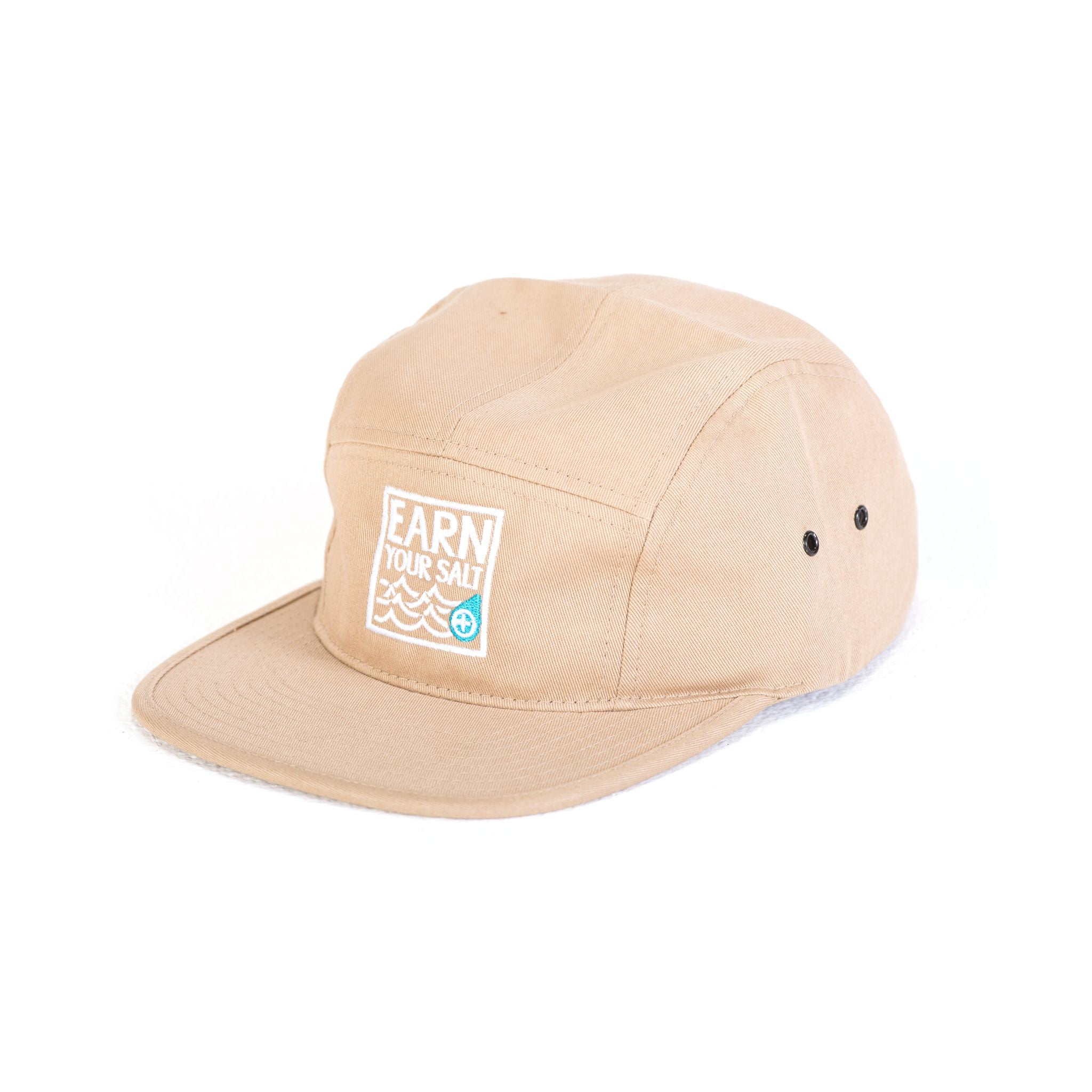 Original Watermen Five Panel Hat (Tan)